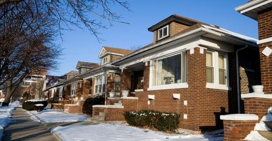 Traditional Chicago bungalow